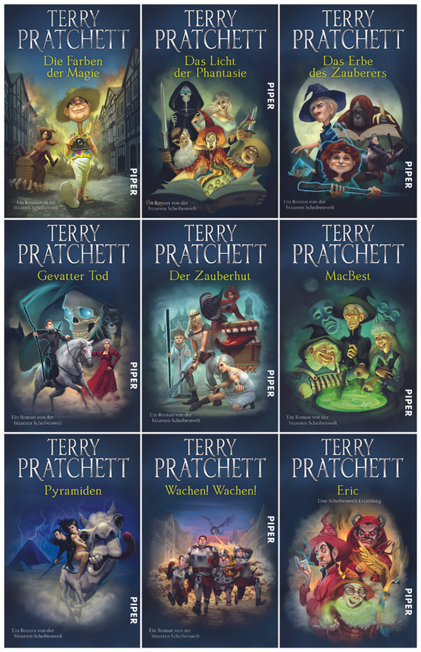 Terry Pratchett Covers