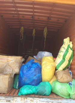 Collections being sent to Goonj