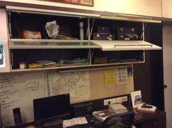 Unutilized Study Shelf