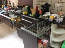 Messy Kitchen Pull-outs