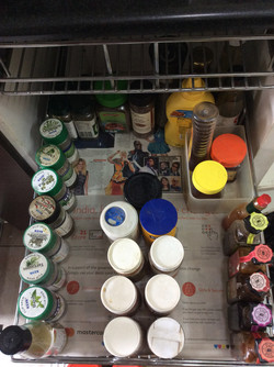 Organized-Herbs and Sauces