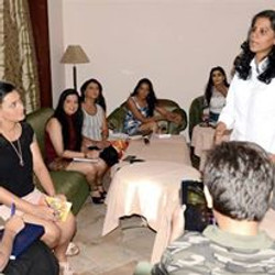 Workshop for Mrs. India World Pagean