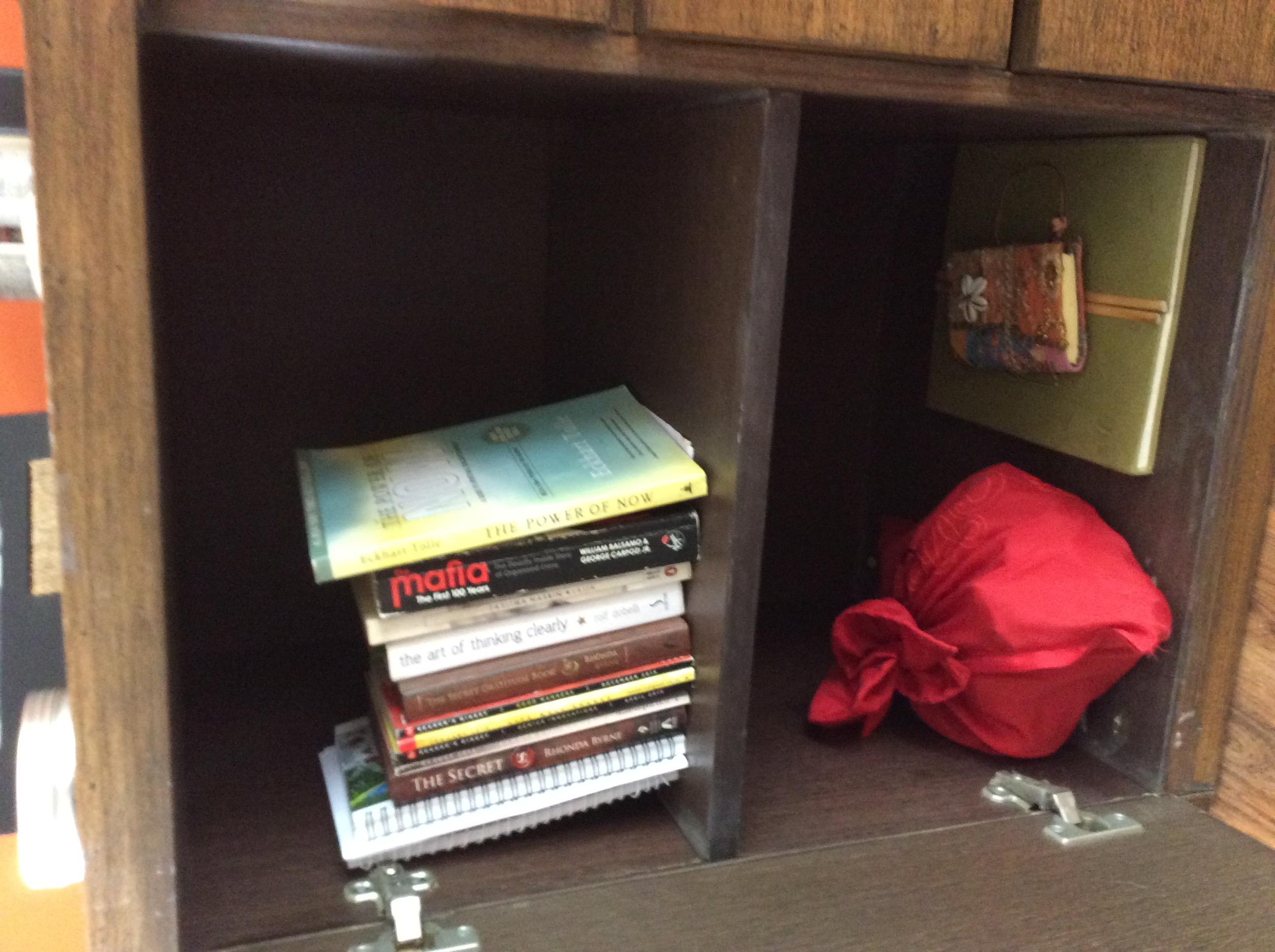 Shelf- in order