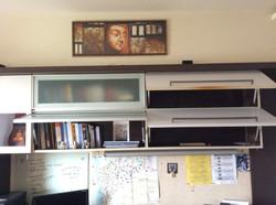 Well Utilized Study Shelf