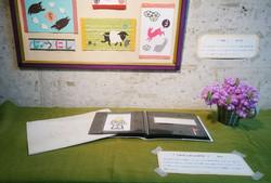 じゅうにしの絵本と設計図