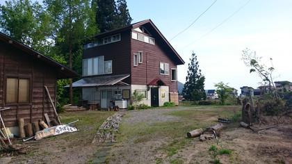 絵本の家「ゆきぼうし」2015.5.9今年も開館しました