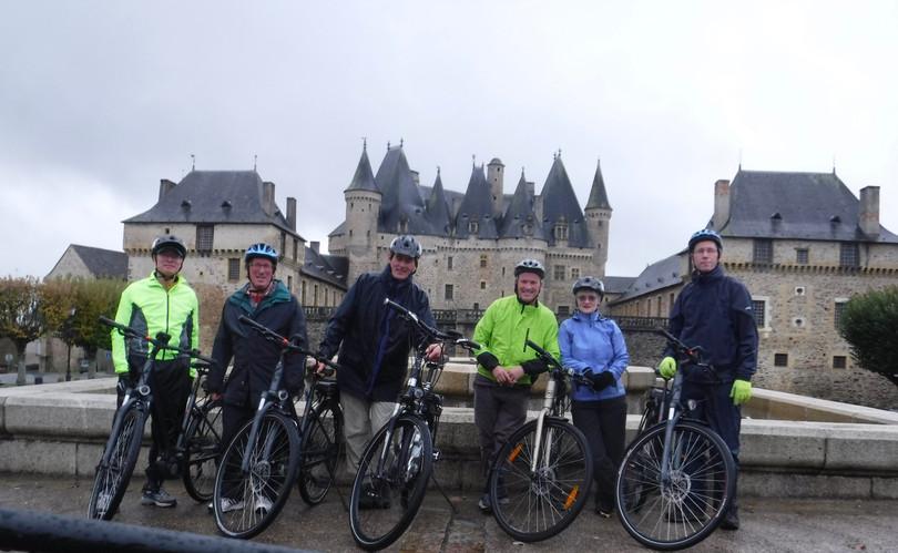 Cycling Jumilhac La Grande