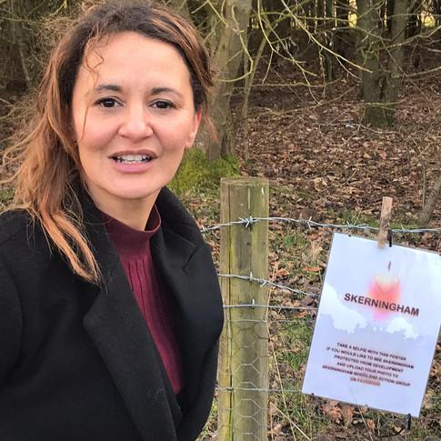 Jessie Skerningham Campaign