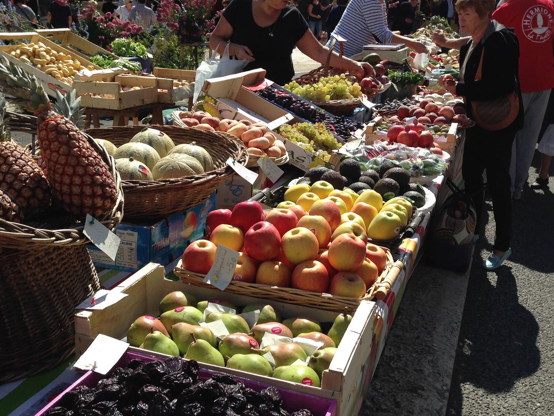 Excideuil Market