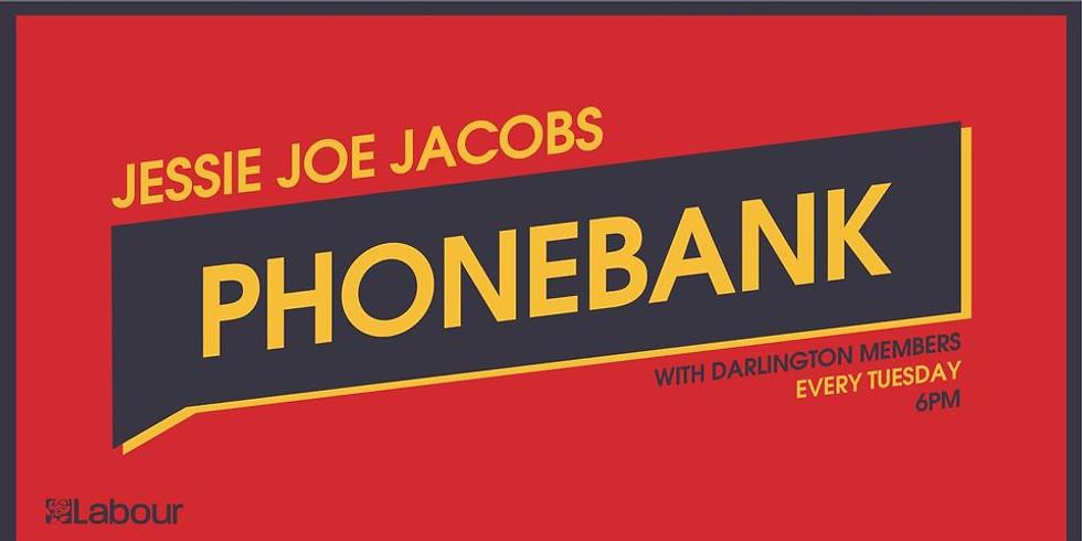 Darlington Phonebank - call for Jessie and Joy