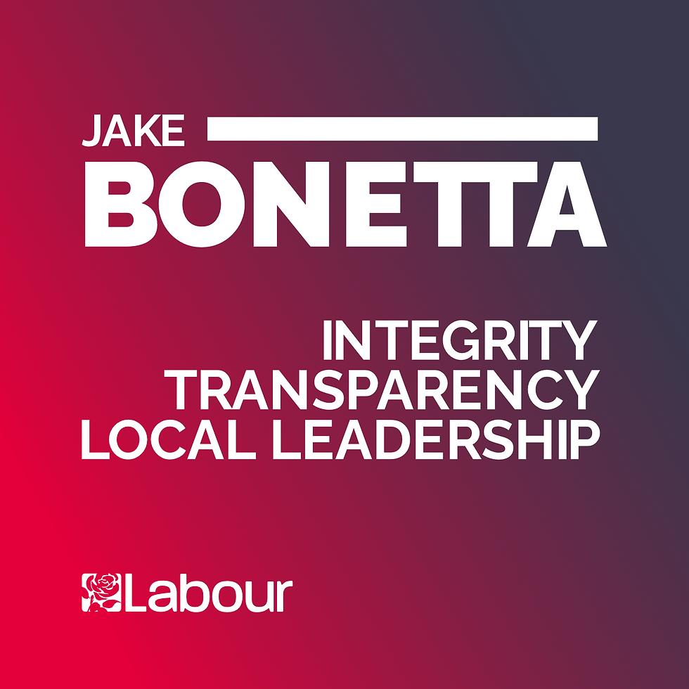 Jake Bonetta Campaign
