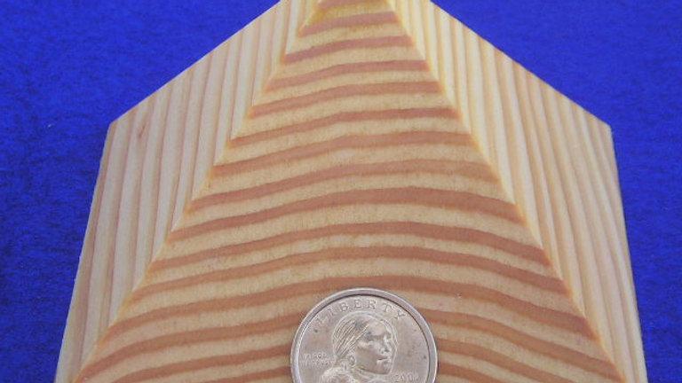 The Solid Giza Pyramid