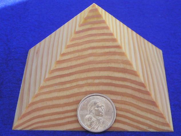 Solid Giza Pyramid Paperweight