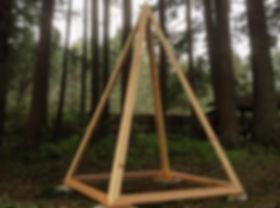The Custom-Built Deluxe Giza Meditation Pyramid