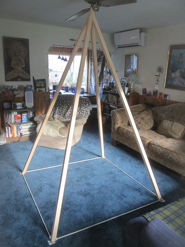 The Nubian Foldup Meditation Pyramid: Only $195!