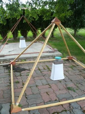 Nancy Nelson's pyramid experiments