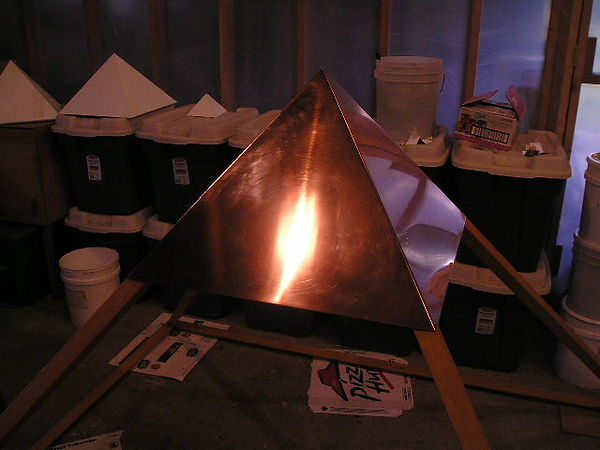 One more view of The Giza Copper Pyramid Capstone