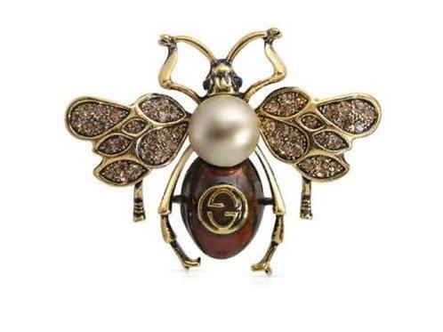 Bee Kahve Broş