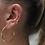 Thumbnail: üçlü yıldızlı earcuff