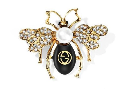 Bee Siyah Broş