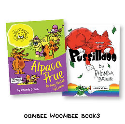 Oombee Woombee Books Rhonda Brown Book S