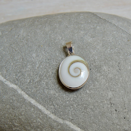 Small Shiva Eye Shell Pendant