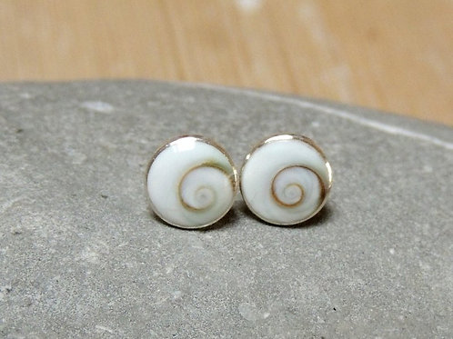 Medium Shiva Eye Shell Stud