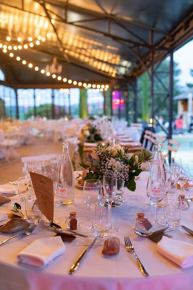 Tente de verre Orangerie pour réception , mariage et évènement.