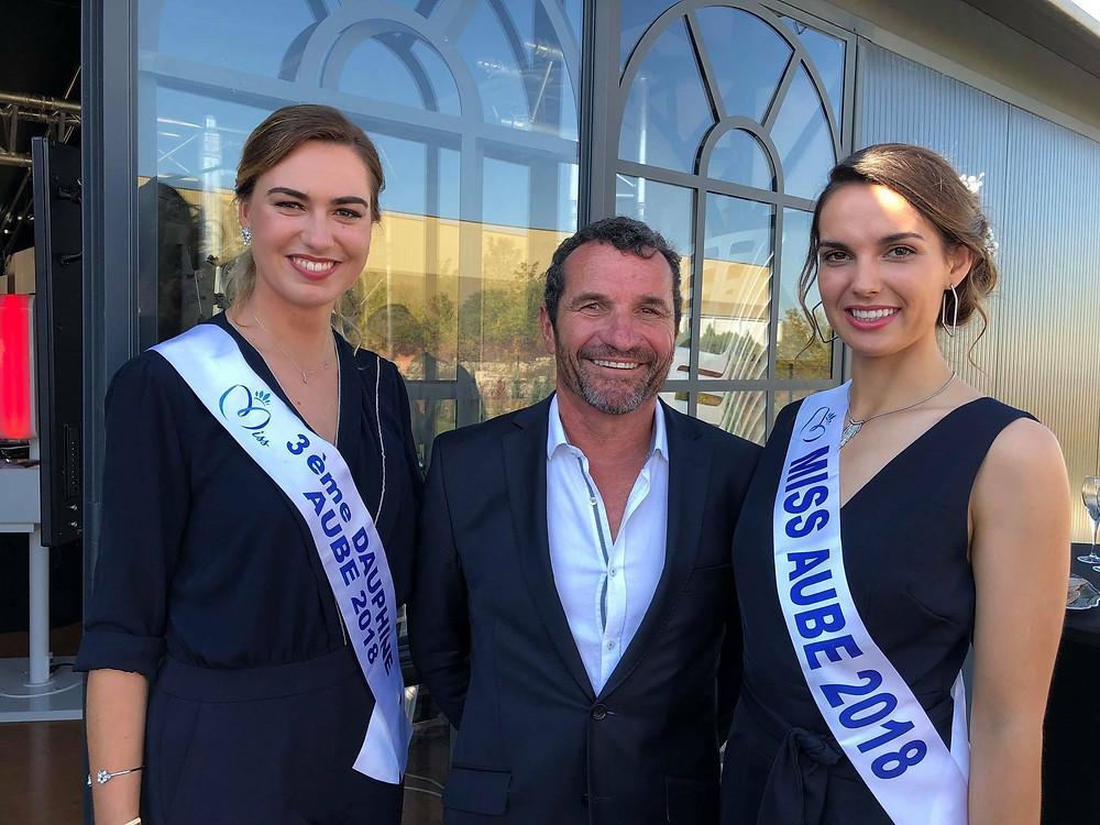 ATYPIQUE 3 salon du mariage dans L'ORANGERAIE simple toit avec Miss AUBE 2018