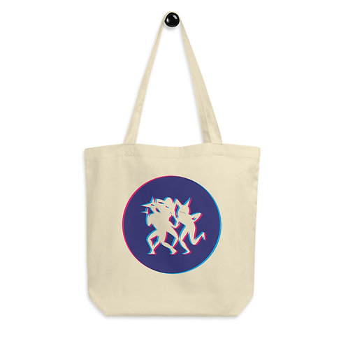 Local Talent Tote in Blue and Pink