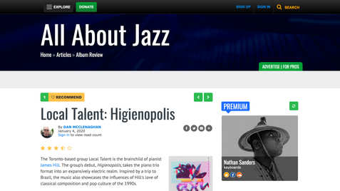 All About Jazz #1