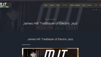 Modern Jazz Today (interview)
