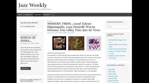 Jazz Weekly