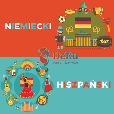 Niemiecki lub Hiszpański w wakacje!