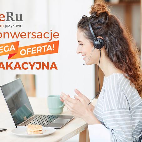 Konwersacje MEGA oferta wakacyjna!
