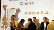 """Indexa recibió el reconocimiento como ganador en la categoría """"Mejor experiencia cliente"""" Bci 2012"""