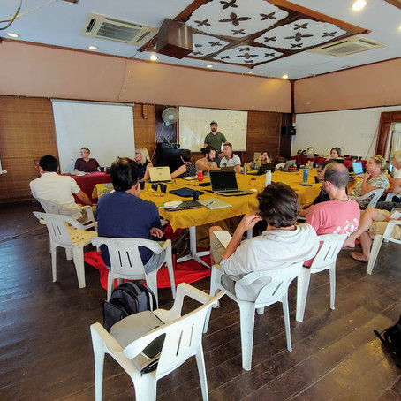 Stefano attends the Post-MMM5 Workshop at Pulau Tioman, Malaysia