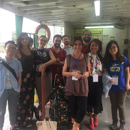 The iMEco lab attends The Crustacean Society meeting in Hong Kong