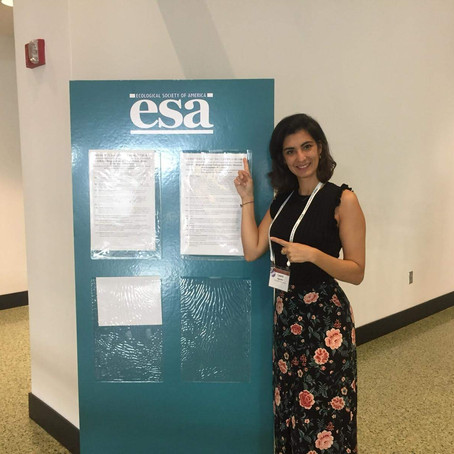 Science covered Laura's presentation at ESA in Louisville
