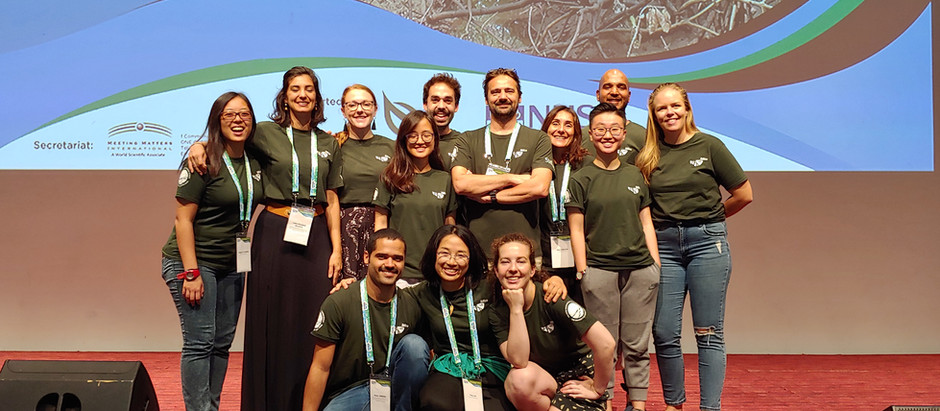 The iMEco lab attends the Mangroves Macrobenthos and Management (MMM5) meeting in Singapore