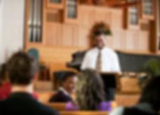 Sermon in Church