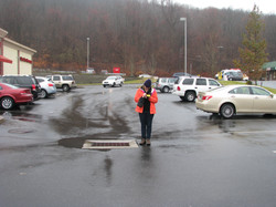 Parking lots are an example of IC.