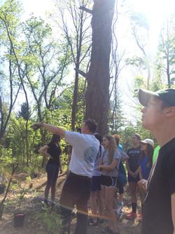 Sean discusses wetland function