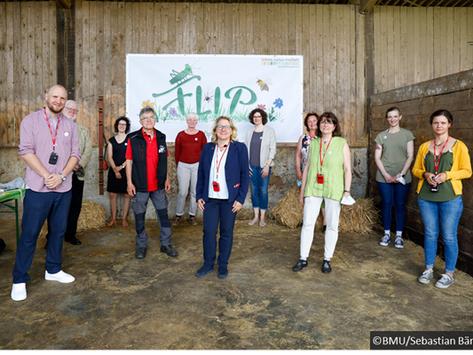 Bundesumweltministerin Svenja Schulze zu Besuch bei FLIP