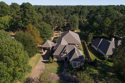 Aerial of 27 Knotty Pine Place