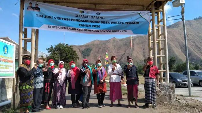 STP Mataram Bawa Sembalun Masuk Visitasi 20 Desa Pendampingan Terbaik 2020