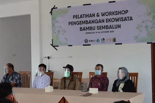 STP Mataram Buka Pelatihan dan Pengembangan Ekowisata Bambu Sembalun