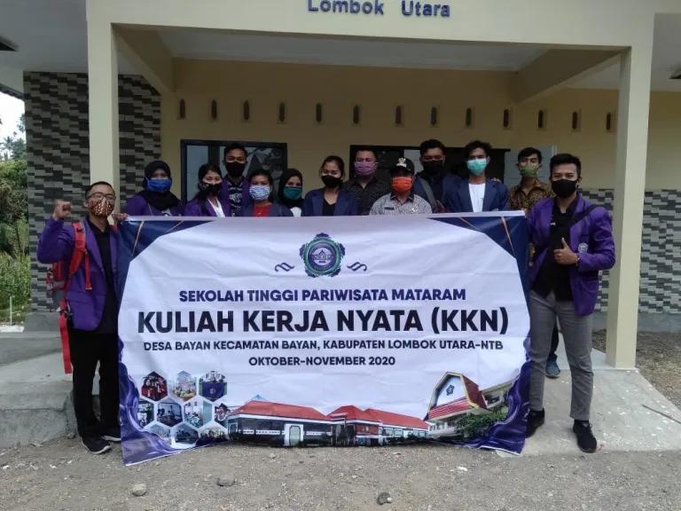 Mahasiswa STP Mataram KKN di Desa Bayan
