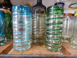 sprial shot glasses