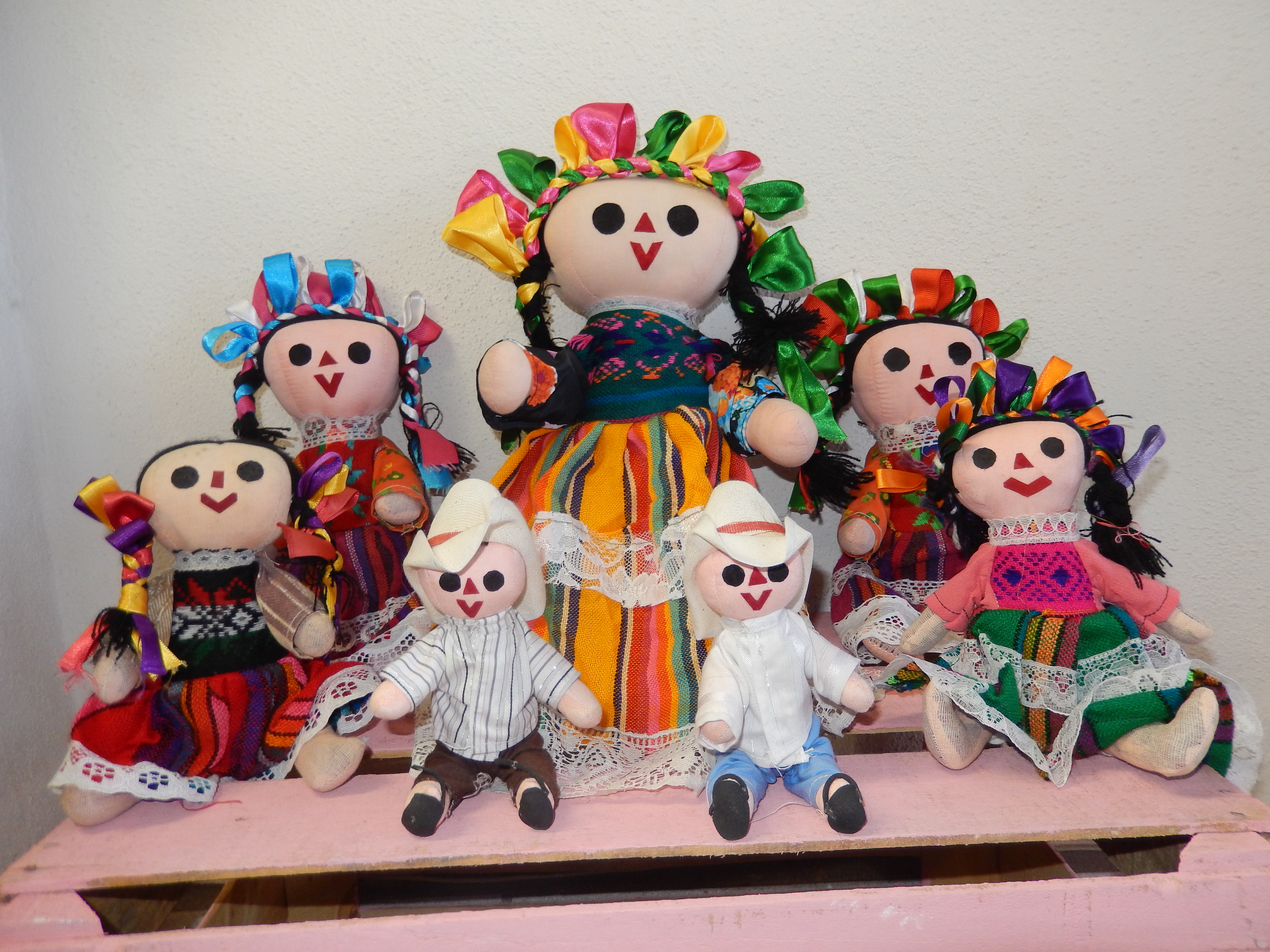 Handmade Dolls - Mexican style